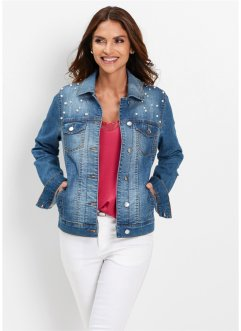 Giacca di jeans con perle, bpc selection