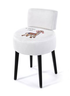 Sgabello con lama stampato, bpc living bonprix collection