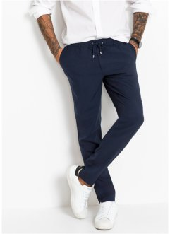 Pantaloni in misto lana regular fit tapered, RAINBOW