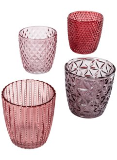 Portacandele (set 4 pezzi), bpc living bonprix collection