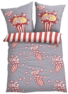 Biancheria da letto double face con popcorn, bpc living bonprix collection