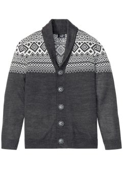 Cardigan con motivi norvegesi, bpc bonprix collection