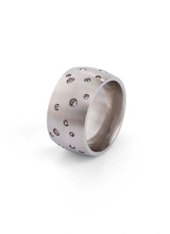 Anello in acciaio inossidabile, bpc bonprix collection