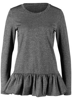 Maglia a maniche lunghe con lurex Maite Kelly, bpc bonprix collection