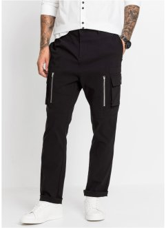 Pantaloni cargo slim fit straight, RAINBOW