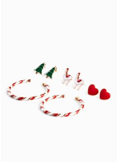 Set di orecchini (set 8 pezzi), bpc bonprix collection