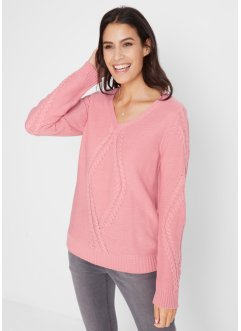 Maglione operato, bpc bonprix collection
