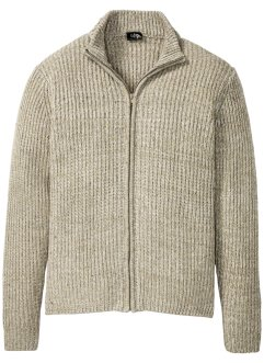 Cardigan melange a coste, bpc bonprix collection