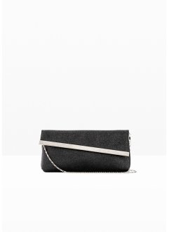 Pochette con patta obliqua, bpc bonprix collection