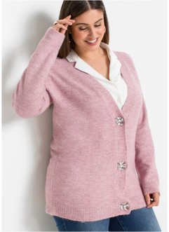 Cardigan con bottoni decorati, BODYFLIRT