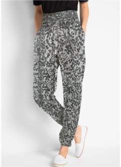 Pantaloni alla turca in tessuto increspato, bpc bonprix collection