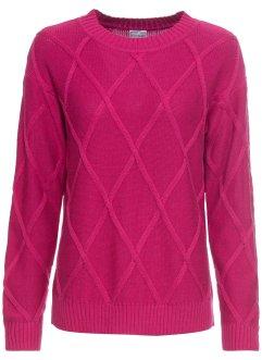 Donna nero manica lunga pizzo schiena fiocco Jersey Sweater Tops TAGLIA 8 10 12