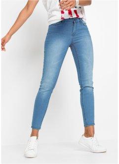 Da Donna Pantaloncini Di Jeans taglio lungo donna corta bianca taglia 6 8 10 12 14 16