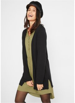 Cardigan leggero in cotone con spacchi, bpc bonprix collection