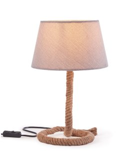 Lampada da tavolo con corda, bpc living bonprix collection