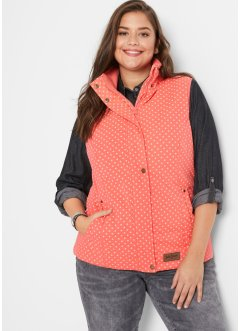 Gilet outdoor stampato, John Baner JEANSWEAR