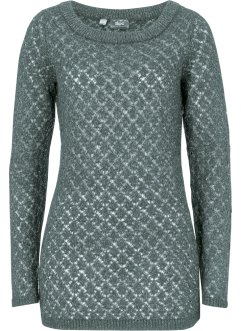 Maglione traforato, bpc bonprix collection