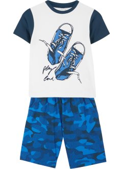 T-shirt e bermuda (set 2 pezzit), bpc bonprix collection