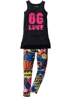 Top e leggings di jersey (set 2 pezzi), bpc bonprix collection