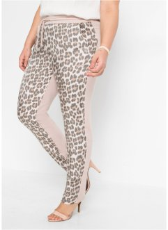 Pantaloni casual in fantasia animalier, BODYFLIRT