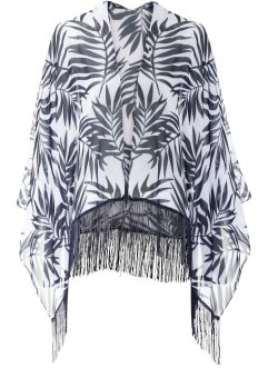 Poncho con frange, bpc bonprix collection