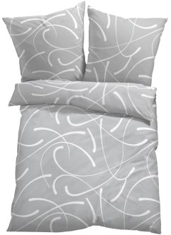 Biancheria da letto in fantasia grafica, bpc living bonprix collection