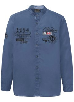 Camicia con colletto alla coreana, bpc selection