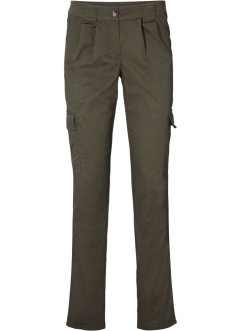 Pantaloni chino elasticizzati con tasche applicate, bpc bonprix collection