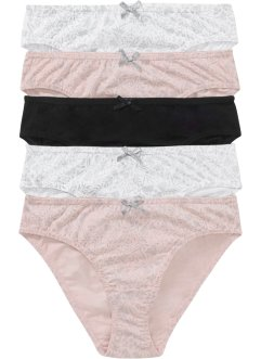 Slip (pacco da 5), bpc bonprix collection