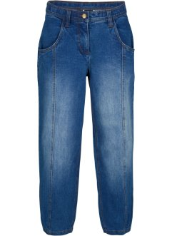 Jeans cropped extra larghi con cinta regolabile, bpc bonprix collection