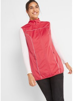 Gilet tecnico sportivo con riflettenti, bpc bonprix collection