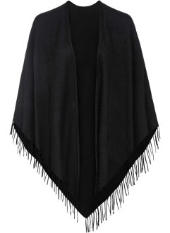 Poncho in lana, bpc bonprix collection