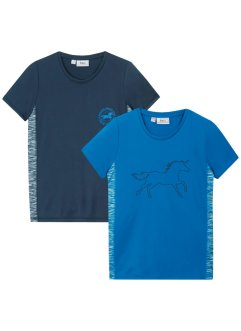 T-shirt sportiva (pacco da 2), bpc bonprix collection