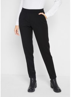 Pantaloni elasticizzati tapered fit, bpc bonprix collection