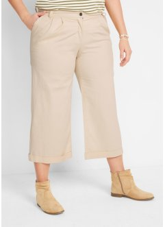 Pantaloni culotte in tessuto, bpc bonprix collection