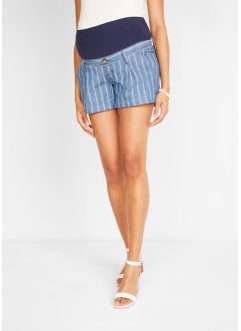 Shorts prémaman di jeans a righe, bpc bonprix collection