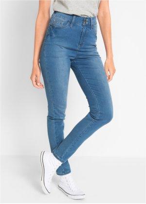 Jeans super elasticizzato push-up a vita alta, bpc bonprix collection 53c364365c