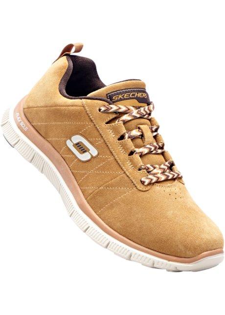 Sneaker Skechers con pelle (Marrone) - Skechers De Taller De Salida Gran Venta De Salida Barato Asequible zGMwlpT