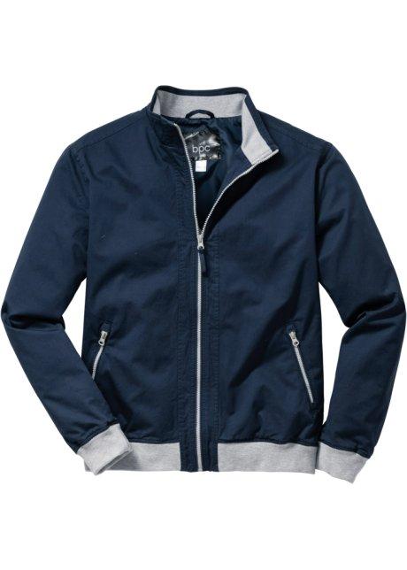 Giubbino regular fit Blu scuro - Uomo - bpc bonprix collection ... cecde387f66