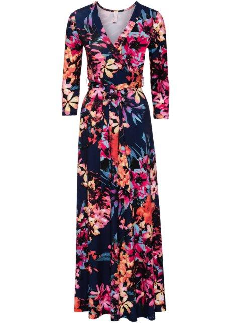 a149d18e4fca Abito Blu   rosa a fiori - Donna - BODYFLIRT boutique - bonprix.it