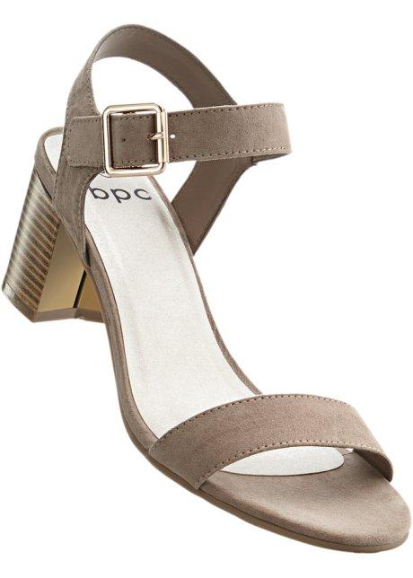 Sandalo con zeppa Maite Kelly (Beige) - bpc bonprix collection goHLH