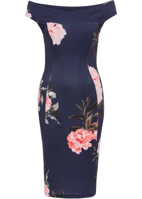 6de49239006d Abito a fiori Blu scuro   rosa - BODYFLIRT boutique acquista online ...