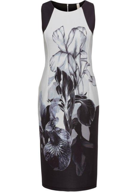 318e495fcec7 Abito Nero   bianco a fiori - BODYFLIRT boutique acquista online ...