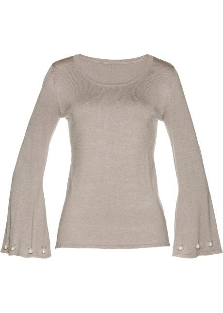 rivenditore online 2cf5e aef37 Pullover con perle