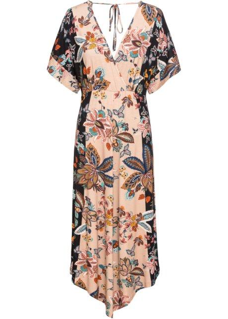 Maniche it Jersey In Donna Kimono Beige Con Fantasia Abito Bonprix A rsCBdthQox