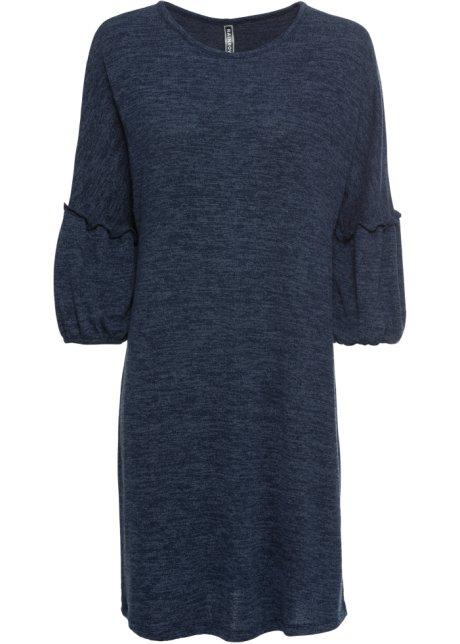 08727e3ff10e Abito in maglia con maniche ampie Blu scuro - RAINBOW acquista ...