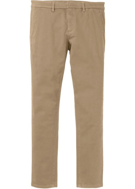 4e06fc6631c6 Pantalone chino elasticizzato slim fit tapered Beige - RAINBOW ...
