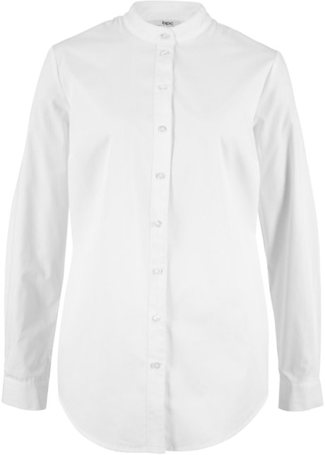 official photos bb806 8620b Camicia con colletto alla coreana