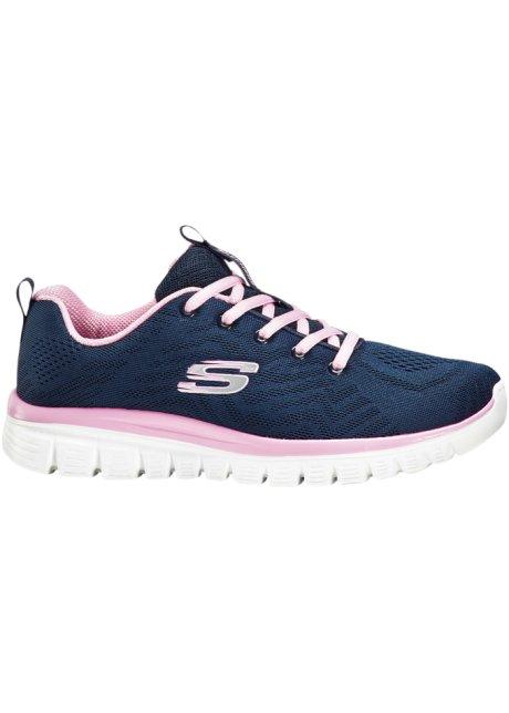 Sneaker skechers con memory foam (grigio) skechers bonprix