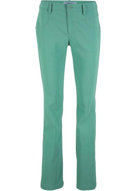 a55f1450e6 Pantaloni elasticizzati effetto snellente bootcut - Verde salvia
